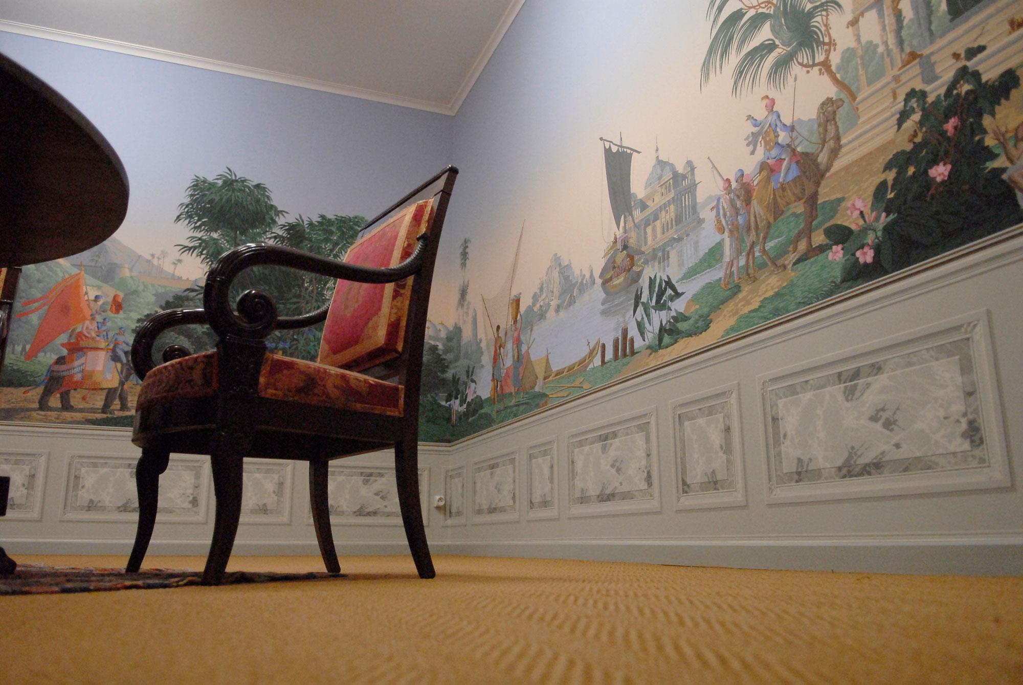 parcours permanent mus e du papier peint rixheim france. Black Bedroom Furniture Sets. Home Design Ideas
