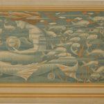 Manufacture inconnue, Grande-Bretagne, Avant 1898 Dessin Claud. W. Gray, 1896 Musée du Papier peint, Rixheim, France, inv.987PC74