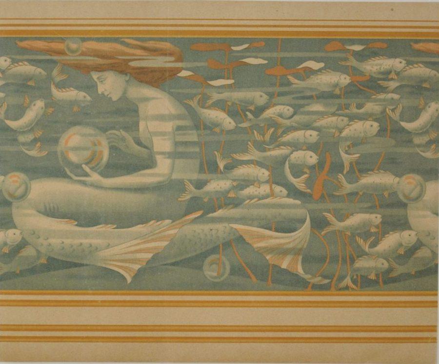Wallpaper And Art Nouveau, Creation, Production, Distribution