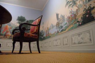 Parcours permanent - Musée du Papier peint, Rixheim, France - Papier peint panoramique de la manufacture Zuber
