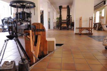 Parcours permanent - salle technique- Musée du Papier peint, Rixheim, France