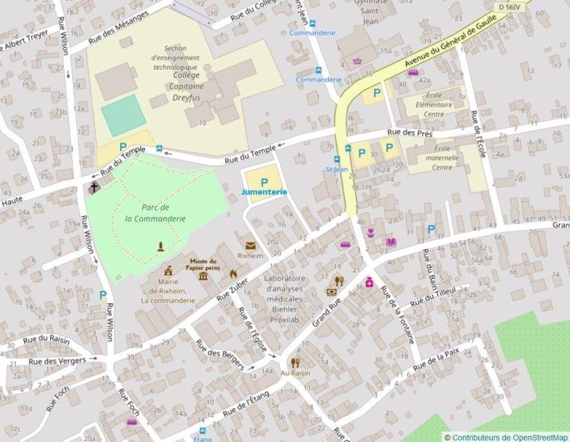 openstreetMap-Jumenterie-MPP