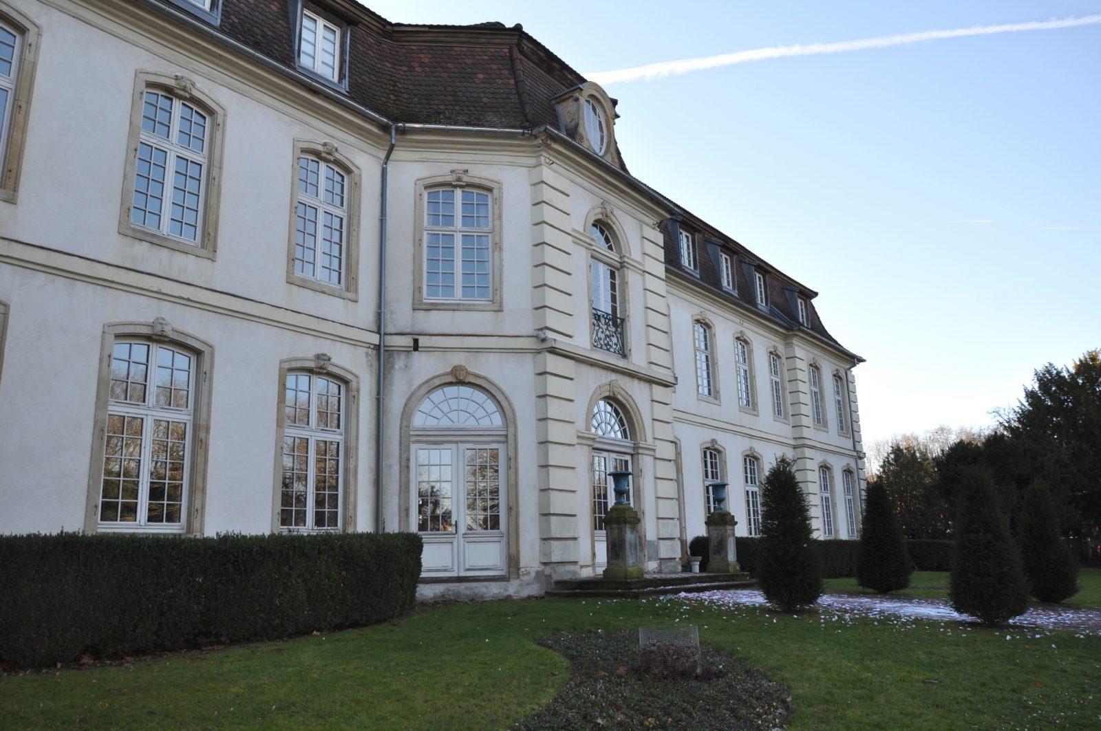 La Commanderie – Façade sur le jardin - Rixheim, France
