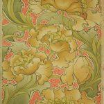 Papier peint, Manufacture inconnue, Grande-Bretagne, Vers 1900 Musée du Papier peint, Rixheim, France, inv.990PP21-266