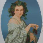 """""""L'Automne"""", élément du décor """"Les Saisons"""", Manufacture Jules Desfossé, Paris, 1858, détail"""