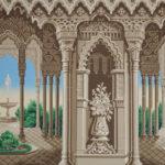 Manufacture Inconnue, années 1840-1860, impression à la planche