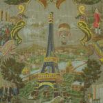 Manufacture Inconnue, France, 1889, impression mécanique